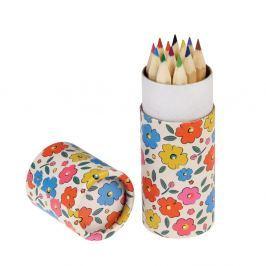 Floral Maze színes ceruzakészlet, 12 darabos - Rex London