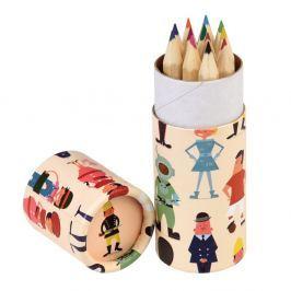 World Of Work színes ceruzakészlet, 12 darabos - Rex London