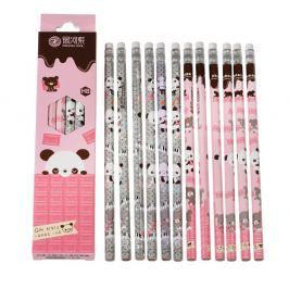 Panda ceruzakészlet, 12 darabos - Rex London