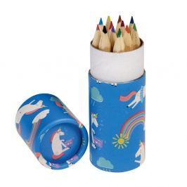 Unicorn mini színes ceruzakészlet, 12 darabos - Rex London