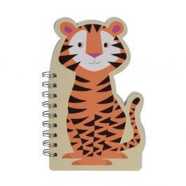 Jim The Tiger jegyzettömb - Rex London