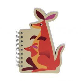 Liam The Kangaroo jegyzettömb - Rex London