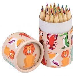 Colourful Creatures mini színes ceruzakészlet, 36 darabos - Rex London