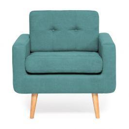 Ina türkiz színű fotel - Vivonita