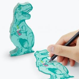T-Rex öntapadós jegyzettömb - Just Mustard