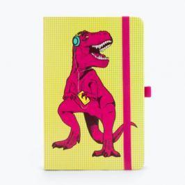 T-Rex sárga jegyzetfüzet - Just Mustard