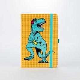 T-Rex jegyzetfüzet - Just Mustard