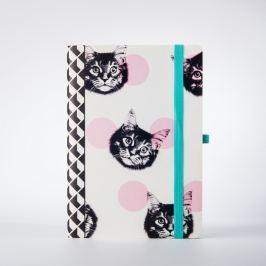 Cat macskamintás jegyzetfüzet - Just Mustard