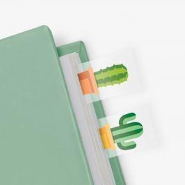 Cactus öntapadós könyvjelzők - Just Mustard
