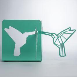 Origami acél állvány könyveknek - Just Mustard