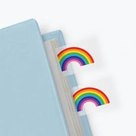 Rainbow öntapadós könyvjelzők - Just Mustard