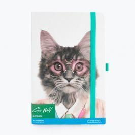 Go Wild Cat jegyzetfüzet - Just Mustard