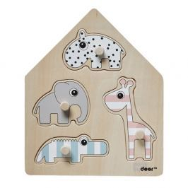 Peg gyermek puzzle - Done by Deer