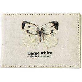 White Butterfly útlevél tok - Gift Republic