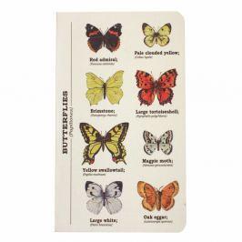 Multi Butterflies jegyzetfüzet, mérete: A6 - Gift Republic