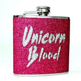 Unicorn rózsaszín laposüveg - Gift Republic