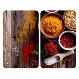 Spices 2 darabos üveg tűzhelyfedő szett - Wenko