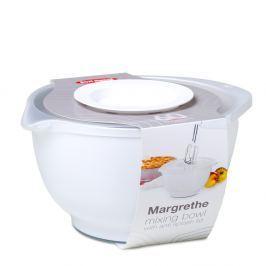 Margarethe fehér habverő tál, fedéllel, 3 liter - Rosti Mepal