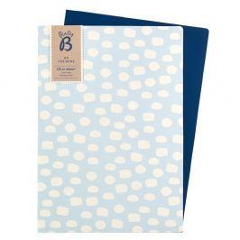 Kék irattartó mappakészlet, 2 részes - Busy B